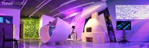 Interiér Digitálního muzea Rumunsko