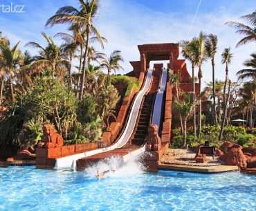 Tobogán resort Atlantis