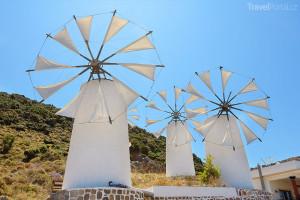 Větrné mlýny Kréta