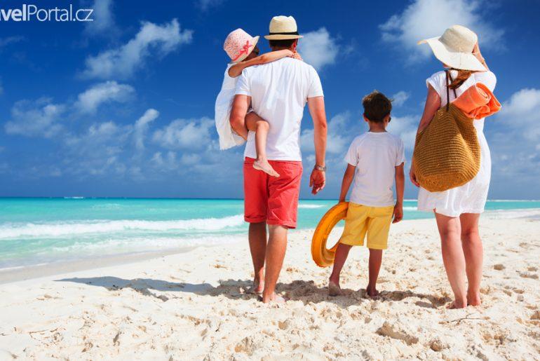 Rodinná dovolená u moře