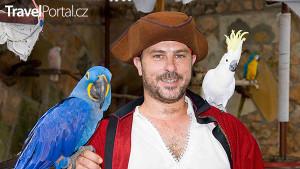 Papouščí show Marineland