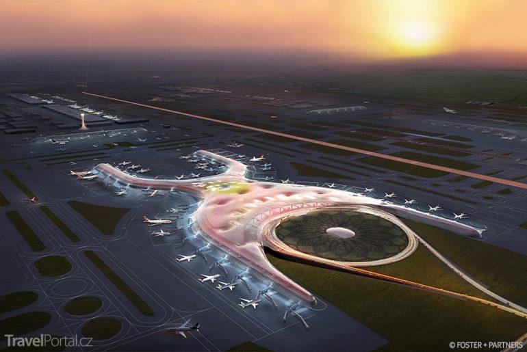 Vizualizace letiště v Mexico City