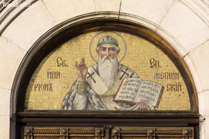 výzdoba katedrály v Sofii
