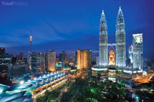 Mrakodrapy Malajsie