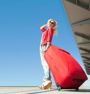 Cestování sólo s kufrem