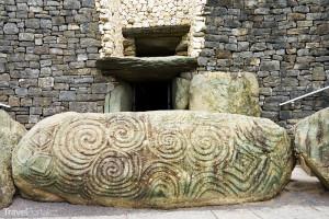 Vchod do Newgrange