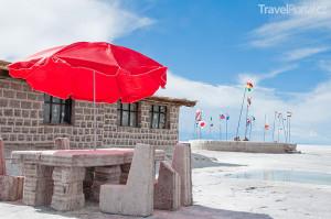 Solný hotel Bolívie