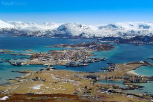 Sommaroy Tromso Norsko