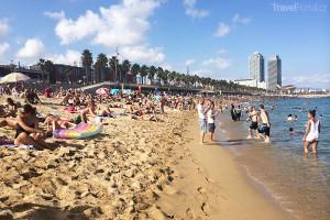 Pláž Barcelona