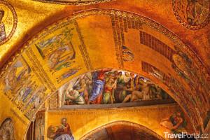 Bazilika sv. Marka interiér