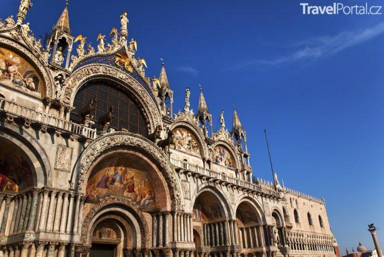 bazilika sv. Marka Benátky Itálie