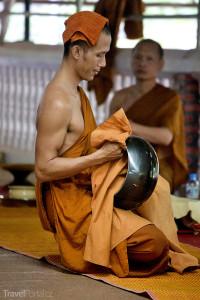 Mnich Tygří chrám Thajsko