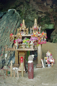 jeskyně ducha plodnosti Thajsko