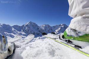 lyžování Jižní Tyrolsko