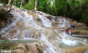 vodopády Jamajka