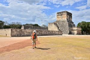 Mayské ruiny Chichén Itzá