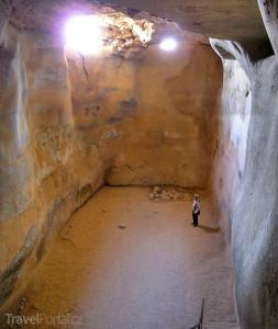 Masada podzemí