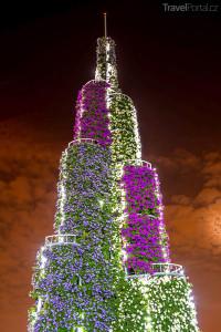 věž v Dubai Miracle Garden Al Barsha