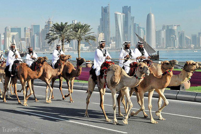 šejkové Katar