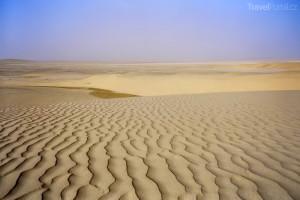 poušť Katar