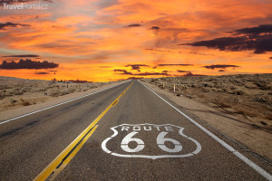 silnice Route 66 USA