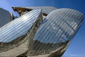 střecha Fondation Louis Vuitton Paříž