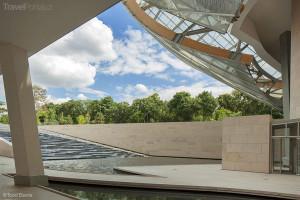 vstup do Fondation Louis Vuitton