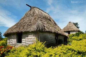 tradiční domek Fidži