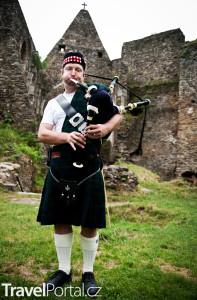 dudák v kiltu Skotsko