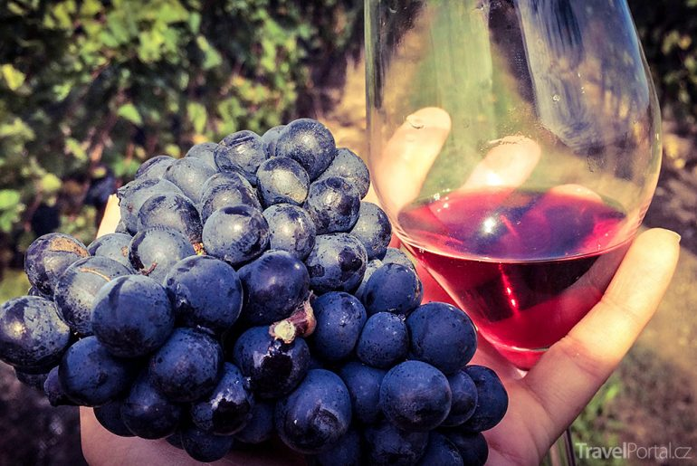 víno u Niagarských vodopádů