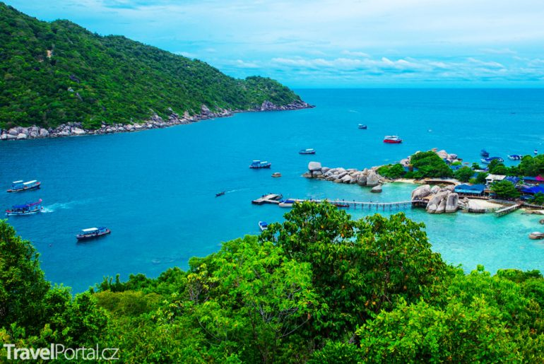 ostrov Ko Tao Thajské království
