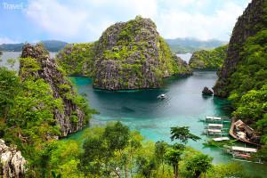 pohled na Palawan