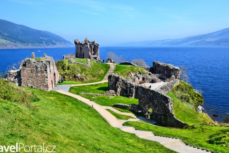 jezero Loch Ness Skotsko