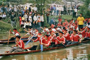 závody veslic Vietnam