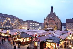 Vánoční trhy 2014 Norimberk