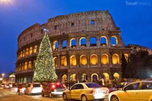 Vánoční trhy 2014 Řím