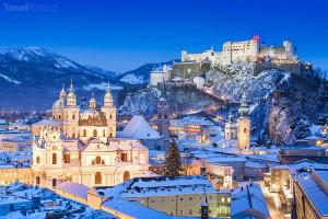 Vánoční trhy 2014 Salzburk
