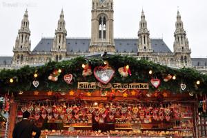 Vánoční trhy 2014 Vídeň