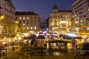 Vánoční trhy 2014 Budapešť