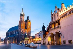 Vánoční trhy 2014 Krakov