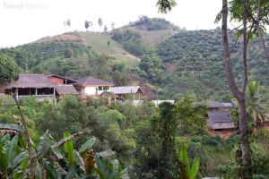 vesnice v Chiang Rai