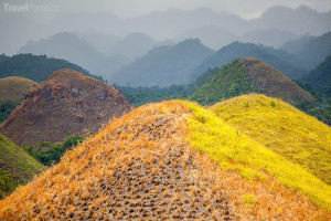 Chocolate Hills Bohol Filipíny