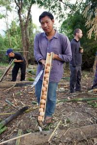vaření v džungli Thajsko