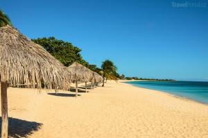 písečná pláž Haiti