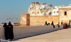 přístav Essaouira Maroko