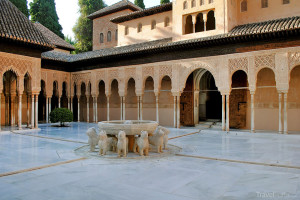 Lví fontána Alhambra