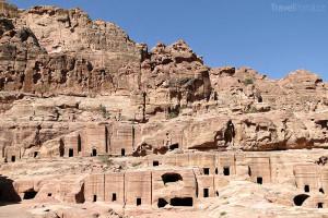 skalní město Petra Jordánsko