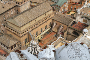Sixtínská kaple Vatikán