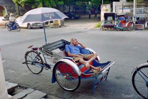 rikša Malajsie