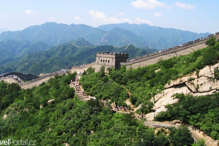 Velká čínská zeď v Číně